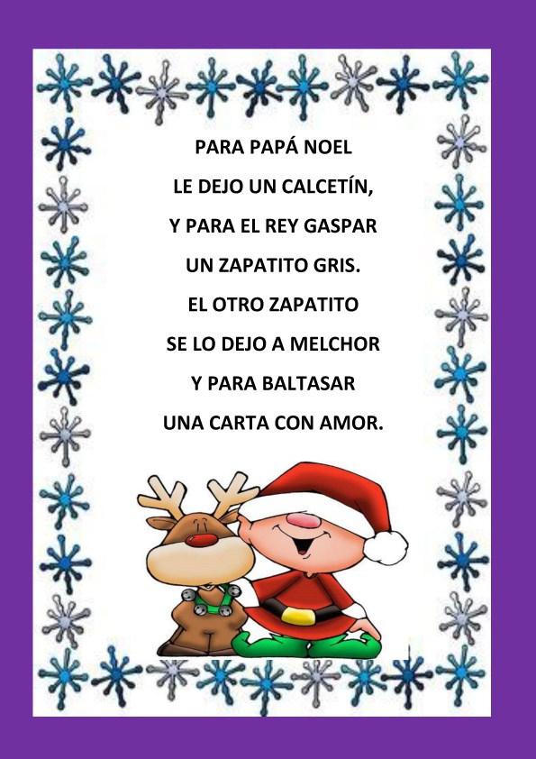 54 poemas cortos para ni os poesias infant les bonitas - Postales de navidad faciles para ninos ...