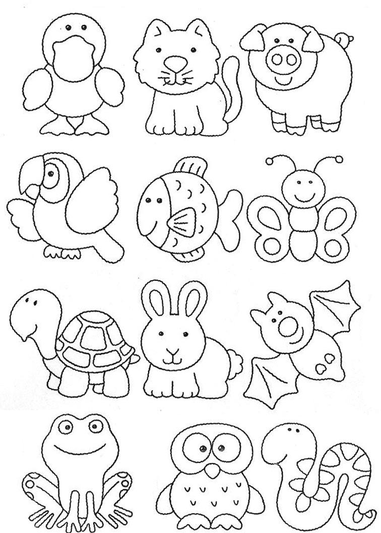 149 Dibujos para imprimir, colorear o pintar para niños ...