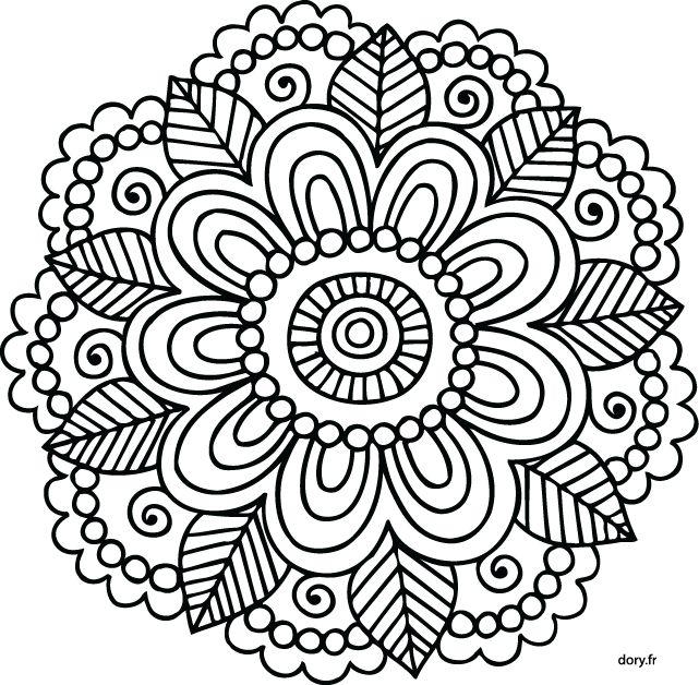 Mandalas para ni os 50 dise os de mandalas para colorear for Imagenes de cuadros abstractos para colorear