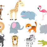Animales para que hagan niños [Dibujos, Manualidades]