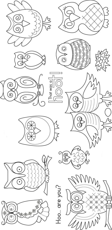 Famoso Bebé Búho Para Colorear Ideas - Dibujos Para Colorear En ...
