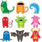 Cuentos de miedo con monsutros para niños