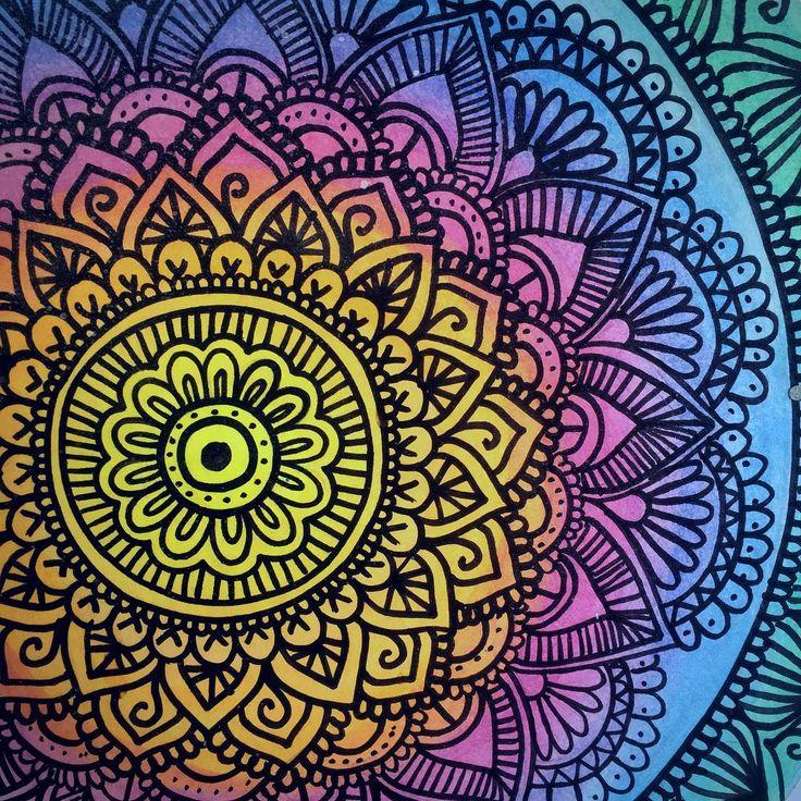 Mandalas para ni os 50 dise os de mandalas para colorear for Disenos de mandalas
