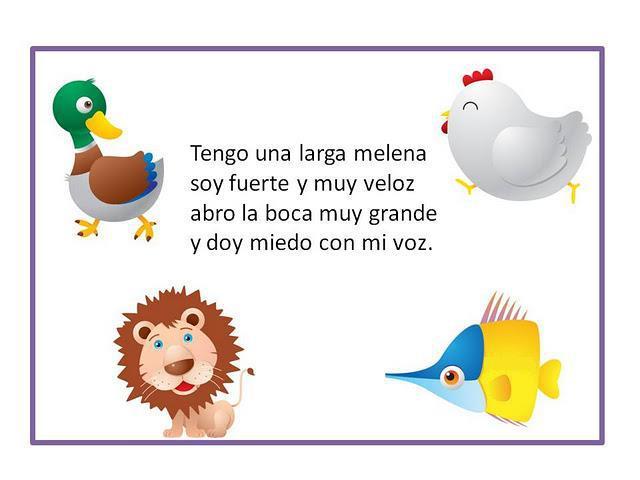 POEMAS CON ADIVINANZAS infantiles y cortos | ParaNiños.org