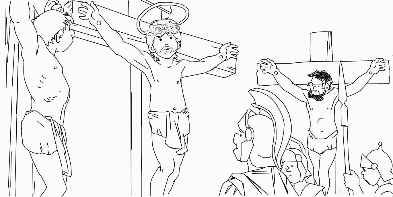 Dibujo De La Palabra Otoño Para Colorear Con Los Niños: Semana Santa Para Niños » Significado, Resumen, Imágenes