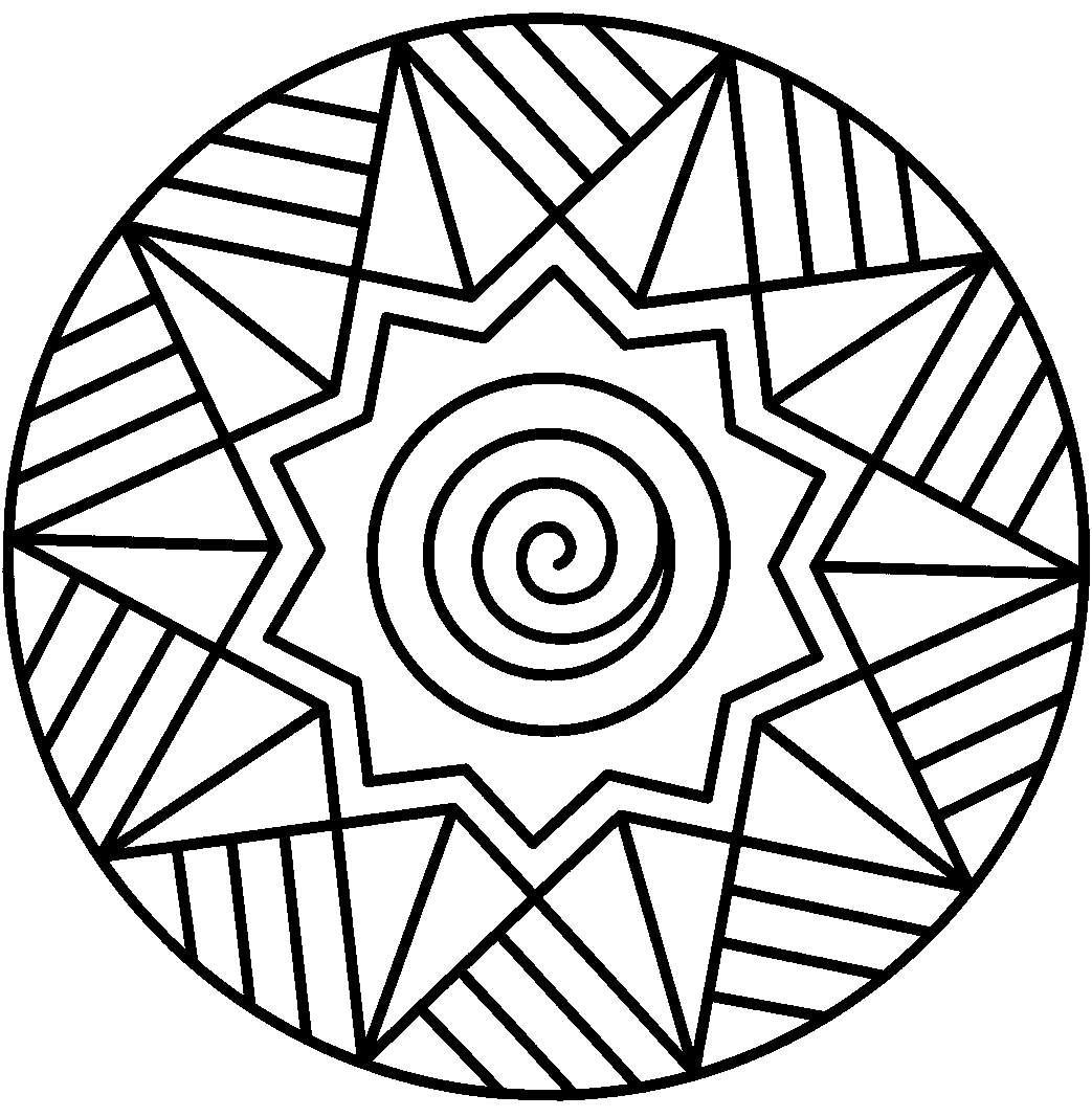 Mandalas Para Niños Para Colorear Diseños Beneficios