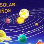 Información sobre el sistema solar para niños
