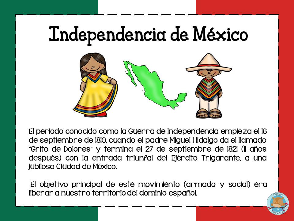 La Independencia De México Resumen Para Niños Paraniñosorg