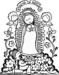 Imágenes De La Virgen De Guadalupe Para Niños Dibujos Gif