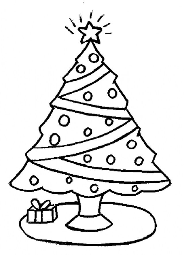 Bonitos Dibujos De Navidad Para Colorear Faciles.Dibujos De Navidad Faciles De Colorear Para Ninos