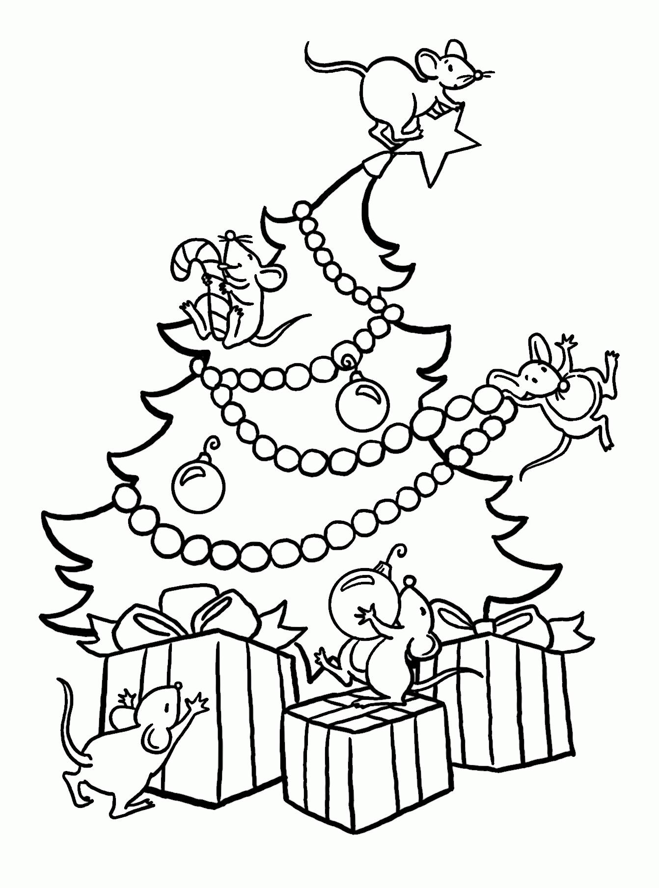 Dibujos De Navidad Fáciles De Colorear Para Niños Paraniñosorg