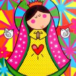 Imágenes de la Virgen de Guadalupe para niños