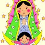 Virgen de Guadalupe para niños: Historia