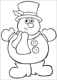 Dibujos De Navidad Fáciles De Colorear Para Niños