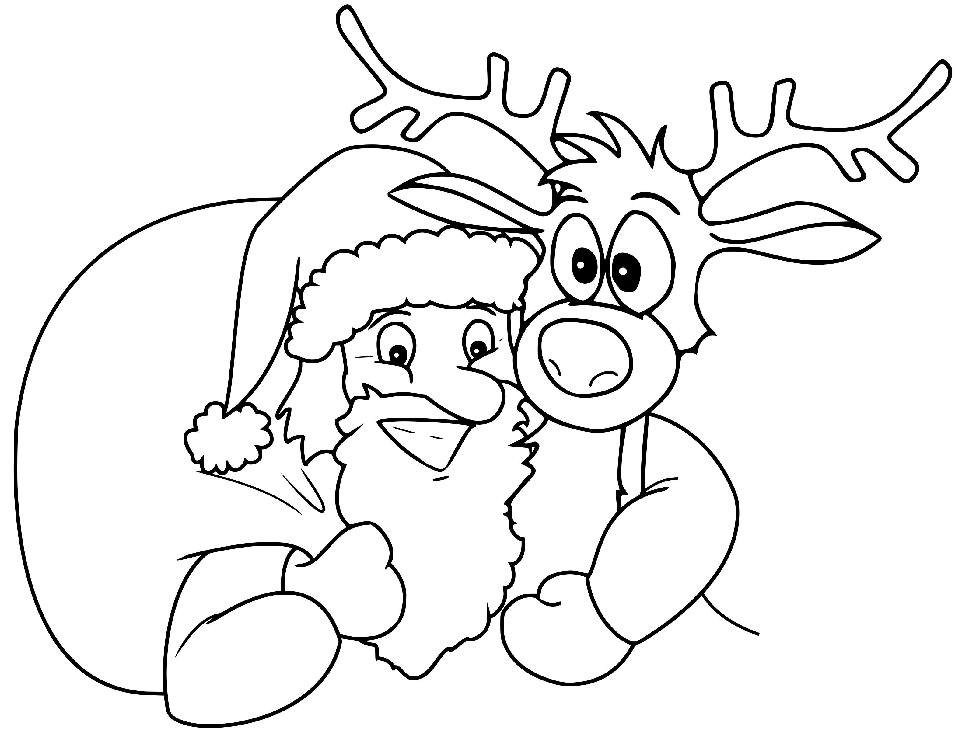 Dibujos De Navidad Faciles De Colorear Para Ninos Paraninos Org